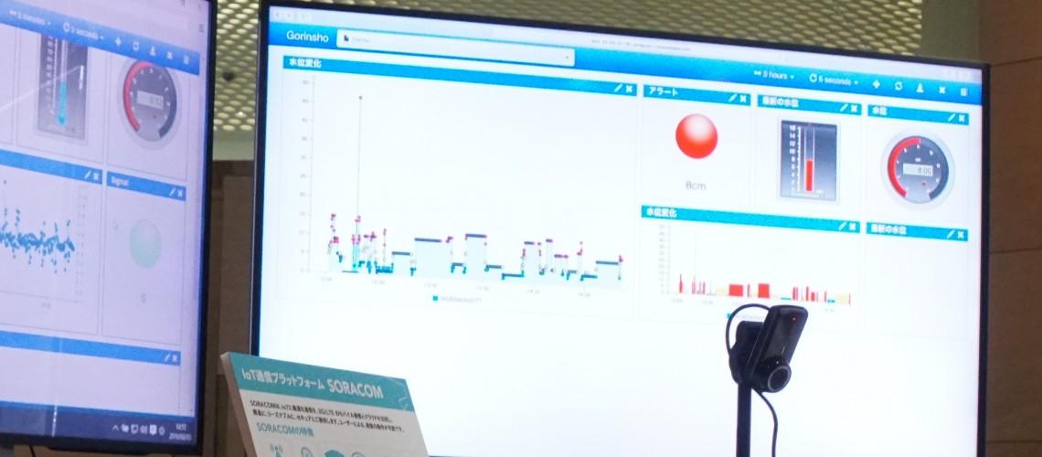マクニカ クラビスカンパニー様の展示でTorrentioのIoTダッシュボードをご利用いただきました
